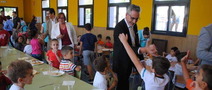 Valdepeñas arranca el nuevo curso estrenando comedor escolar