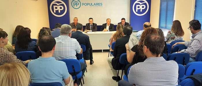 El Comité Ejecutivo Provincial aprueba la celebración de los congresos locales del PP de Manzanares y de Tomelloso