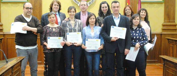 Entregados los diplomas del Taller de Empleo de 'Enoturismo Valdepeñas'