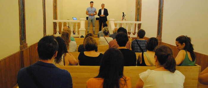 El seminario 'Diseña tu futuro' congrega en Valdepeñas a una veintena de participantes