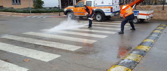 El Ayuntamiento de Valdepeñas activó el dispositivo contra heladas