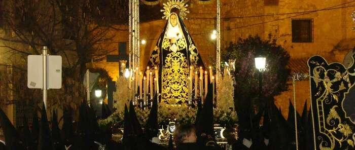La procesión de los Azotes, reflejo del fervor de un pueblo por su Semana Santa