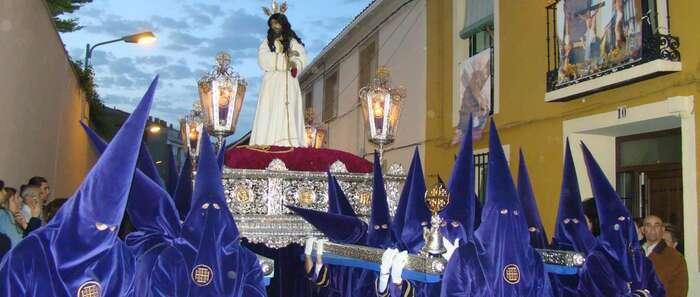 """El Nazareno despierta al pueblo de Quintanar con la """"Campaná"""""""