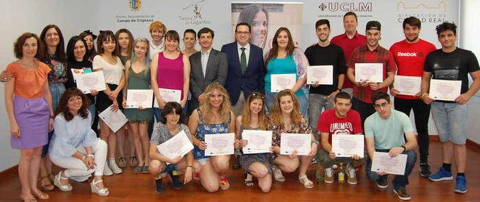 Más de 20 jóvenes concluyen con éxito su formación con el Programa PICE en Campo de Criptana