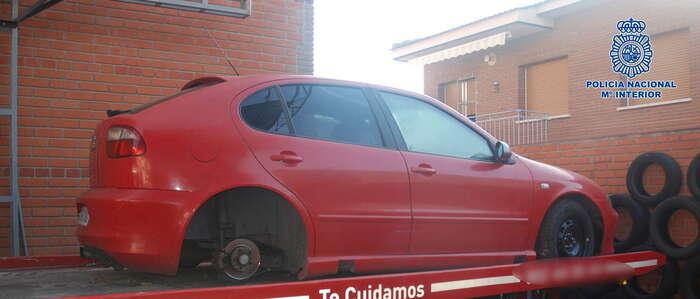 Detenido  el presunto autor del robo en Toledo de un vehículo que guardaba en un chalet ocupado