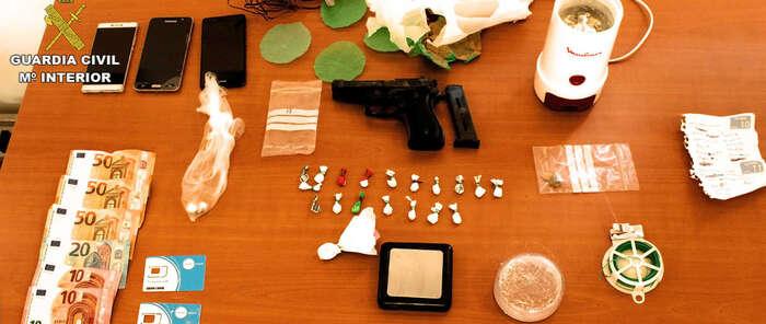 La Guardia Civil desactiva cinco puntos de venta de droga en varias localidades de la provincia de Ciudad Real