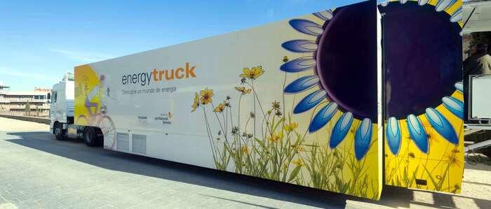 El Energytruck, una muestra itinerante del Museo del Gas de la Fundación Gas Natural Fenosa, llega a Toledo