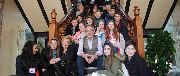 Alumnos y profesores de Polonia, Holanda, Italia y Turquía visitan Valdepeñas a través de Erasmus