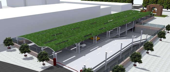 La empresa de Tomelloso Anro crea un nuevo sistema para construir aparcamientos en altura, ampliables, desmontables y reutilizables