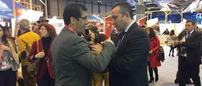 Los presidentes de la Diputación Provincial de Ciudad Real y de la Cámara de Comercio toman contacto con FERDUQUE