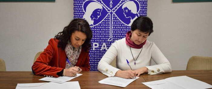 APANAS firma un convenio de colaboración con ASAJA Toledo para mejorar la empleabilidad de las personas