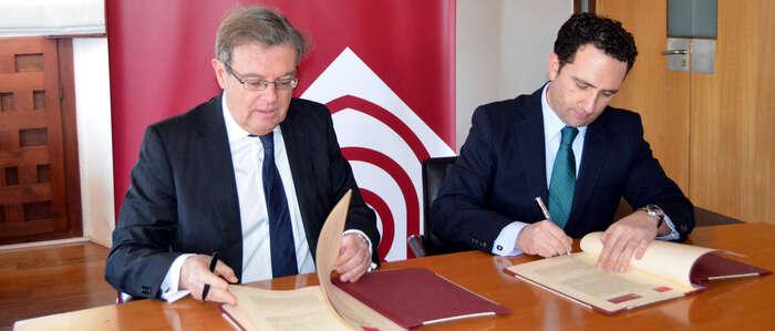 La UCLM y el Colegio Notarial de Castilla-La Mancha renuevan su colaboración