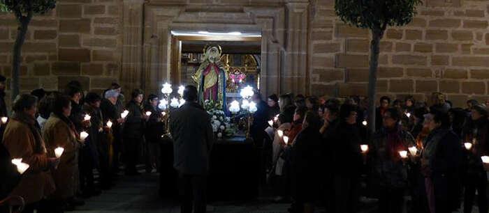 """Imagen: Conciertos, procesiones, pregón, Vía Crucis y los """"Santos en Rilera"""", entre los actos de Semana Santa en Villafranca"""