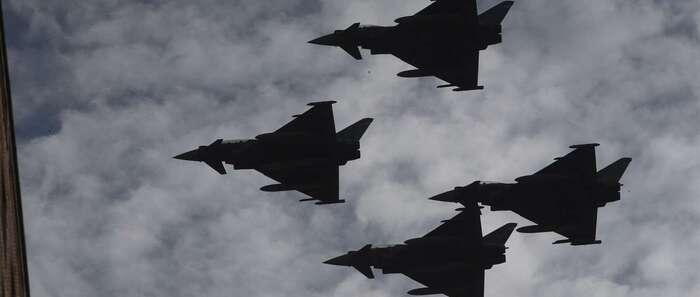 La justicia y una comisión militar investigarán de forma paralela el accidente del Eurofighter en Los Llanos