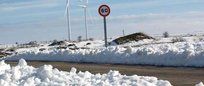 Protección Civil y Emergencias alerta por nevadas intensas y vientos fuertes a partir del martes