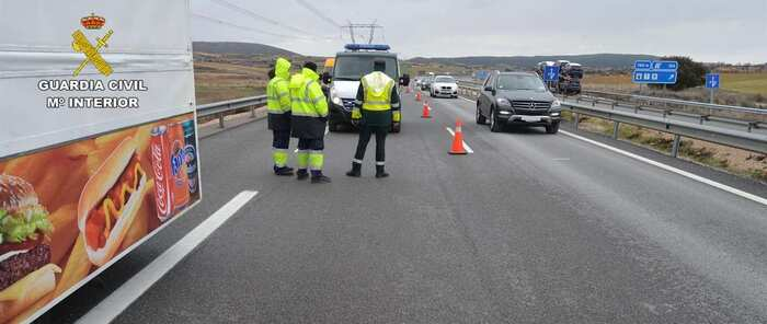 Detenido el conductor del camión que atropelló mortalmente a un hombre en Zafra de Záncara