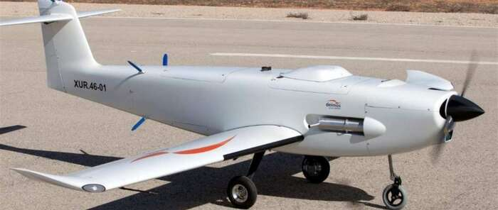 Elecnor-Deimos entrega a Francia su primer prototipo de avión no tripulado UAV D80 Titan, diseñado en Puertollano