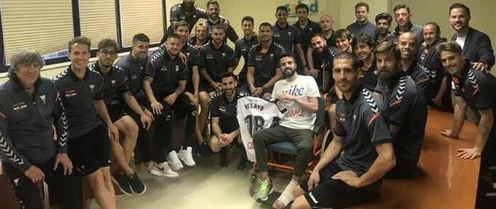 El futbolista del Albacete Pelayo Novo, trasladado desde Zaragoza al Hospital Nacional de Parapléjicos de Toledo