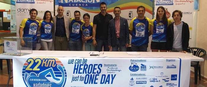 Nadadores de Cuenca unirán Alicante con la isla de Tabarca a nado para luchar contra el cáncer infantil este sábado