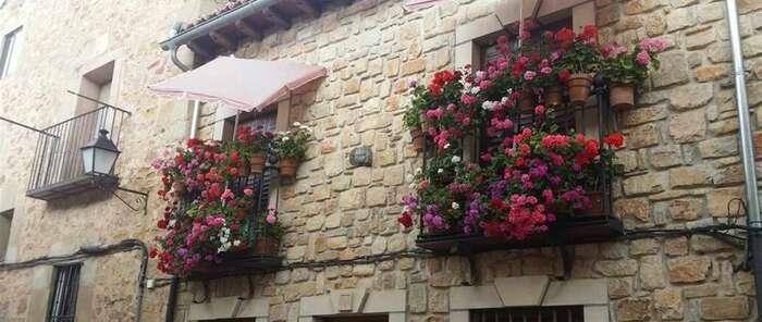 Sigüenza busca el balcón, ventana o rincón florido más bonito de la localidad y anima a los vecinos a participar