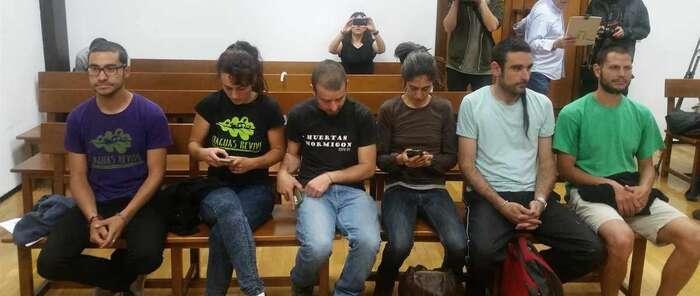 Los jóvenes pobladores de Fraguas, condenados a año y medio de prisión
