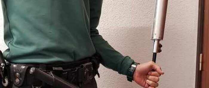 Dos detenidos en Ciruelos del Pinar (Guadalajara) a los que se les intervino un rifle con silenciador