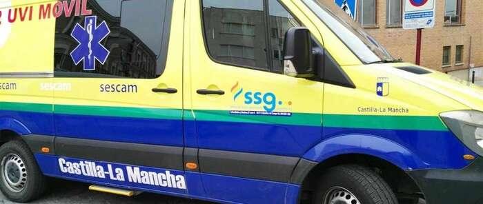 Investigado un conductor de ambulancia por superar en 8 veces el límite de alcoholemia en Sacedón