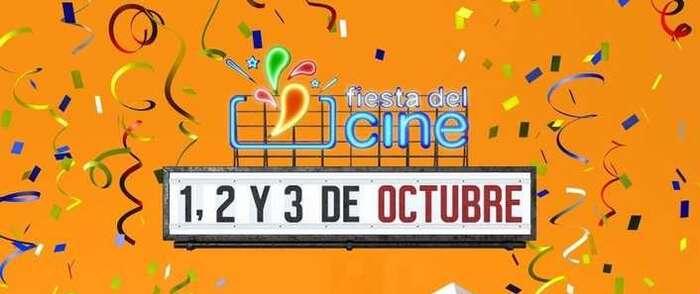 a 15ª edición de la Fiesta del Cine vuelve del 1 al 3 de octubre en toda España con entradas a 2,90 euros