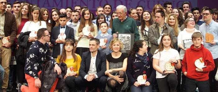 El Ayuntamiento de Cuenca premia en la Gala del Deporte al centenar de deportistas que ha destacado en 2018