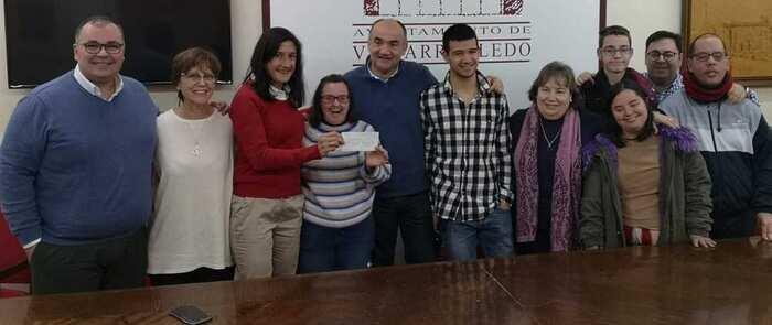 La AMEV entrega a Asprona más de 1.000 euros de la recaudación del 39 encuentro Coral de Castilla la Mancha