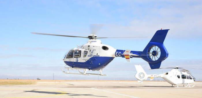 Trasladado en helicóptero al 12 de Octubre de Madrid un niño de 18 meses tras caerse desde un primer piso en Sacedón