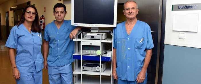 El Hospital de Talavera acoge un curso de endoscopia ginecológica para médicos internos residentes entre el 14 y el 16 de octubre