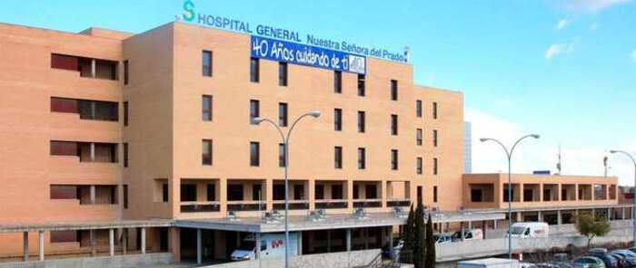 Trasladado al hospital de Talavera un hombre de 48 años herido por arma blanca en la vía pública