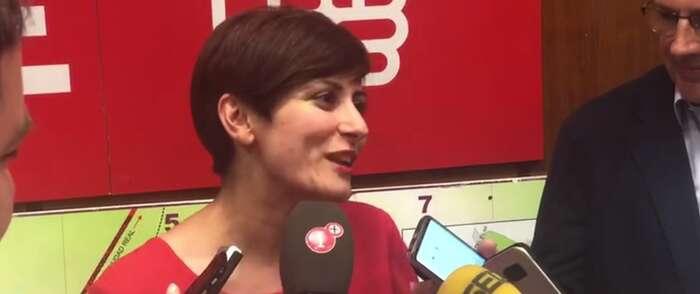 """Isabel Rodríguez agradece """"ilusionada"""" a la ciudad de Puertollano el respaldo ofrecido al PSOE en las elecciones municipales"""