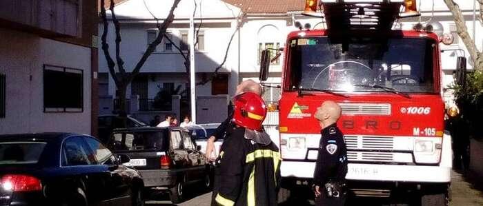 Herida una joven a causa de un incendio en una vivienda de Ciudad Real