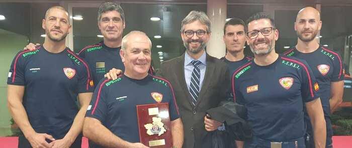La Unidad de Rescate Acuático del SEPEI, 'Placa al Mérito de Protección Civil' del gobierno regional