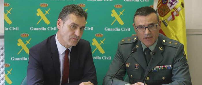 Desmantelada una organización criminal responsable de más de 100 robos en establecimientos hosteleros, viviendas y vehículos en la provincia de Guadalajara