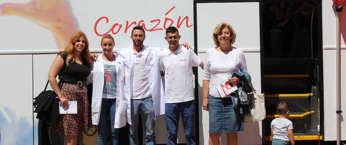"""La campaña """"Mujeres por el corazón"""" de la Fundación Mapfre visita Alcázar"""