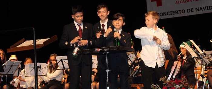 Cruz Roja destacó en su tradicional concierto de Navidad el trabajo realizado en favor de la inserción laboral