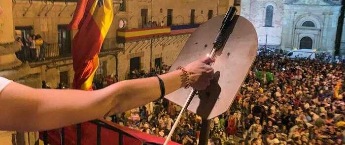 El chupinazo anunció que Sigüenza ya está de fiesta