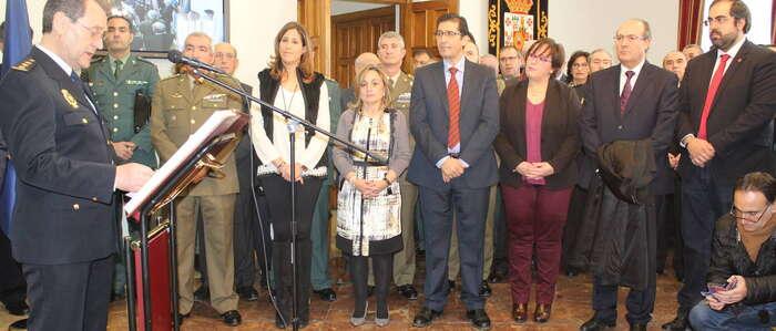 Carmen Olmedo ofrece la colaboración institucional del Gobierno de Castilla-La Mancha al nuevo Comisario Jefe de Ciudad Real