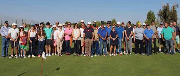 Torneo de golf inclusivo para conmemorar  en Alcázar el Día Mundial de la Salud Mental