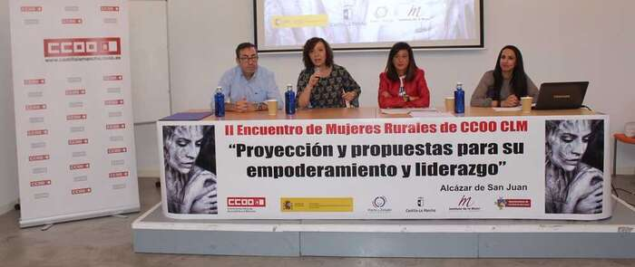 """CCOO de Castilla La Mancha celebra en Alcázar el segundo encuentro """"Mujeres en el medio rural"""""""