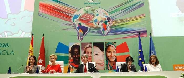 AFAMMER congrega a más de 800 personas en el II Congreso Internacional La Voz de las Mujeres Rurales en el Mundo
