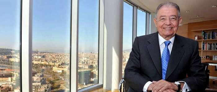 Salvador Gabarró, presidente de honor de Gas Natural Fenosa, falleció hoy a los 81 años de edad en Barcelona