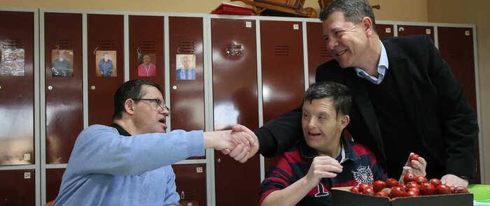 Construir una sociedad inclusiva para las personas con discapacidad