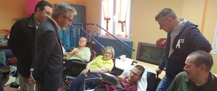 Jesús Martín apuesta por regular la integración laboral de las personas con discapacidad para que tengan las mismas oportunidades que el resto