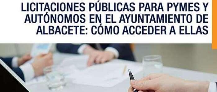 El Ayuntamiento de Albacete organiza una jornada para autónomos y Pymes para mejorar su acceso a la contratación pública