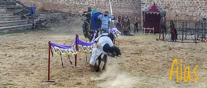 Cañete clausura su Alvarada Medieval con un nuevo éxito de participación