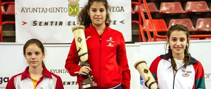 La torrijeña Anabel Palomo, campeona en la IV Copa Internacional de Kárate Femenino